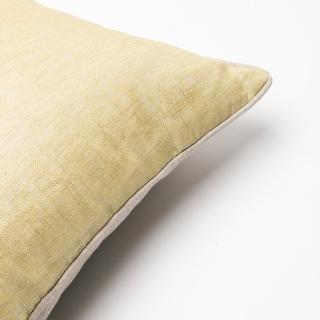 Aurora Home Metallic Linen 18-Inch Throw Pillows (Set of 2)