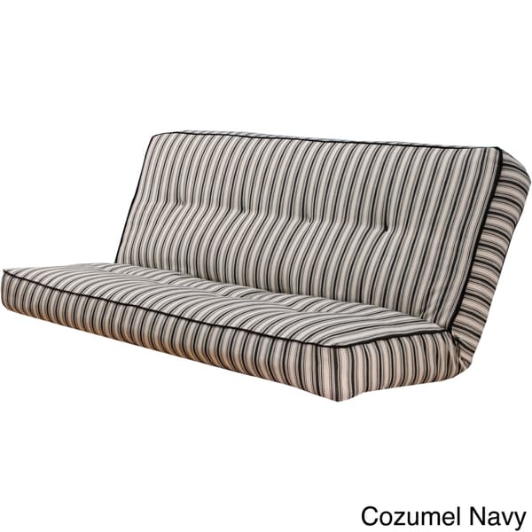 Somette Stripe Full Size Futon Cover