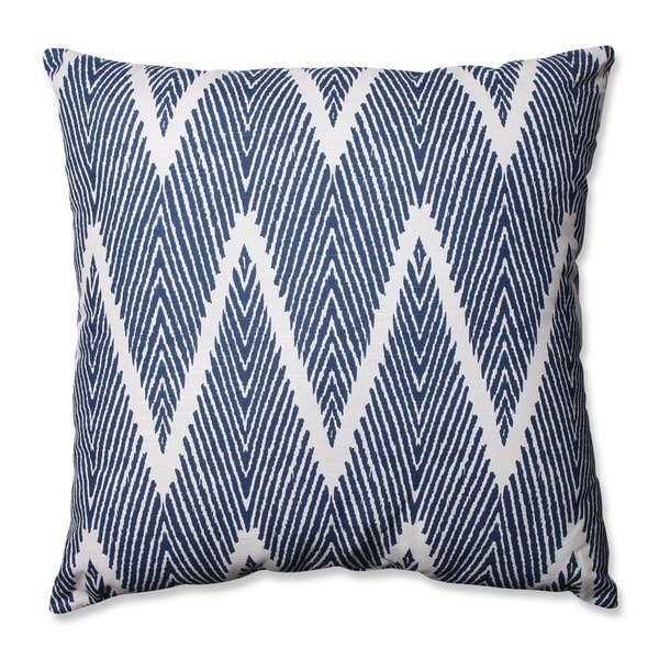 Pillow Perfect Bali Navy 24.5-inch Throw Pillow