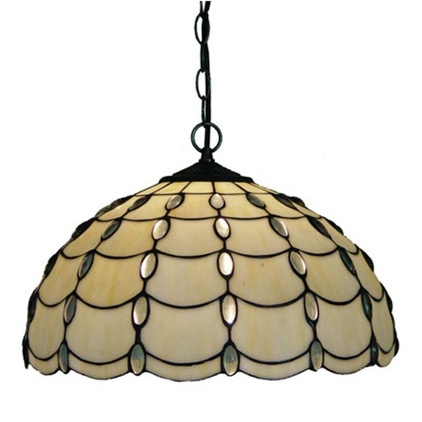 amora lighting tiffany style cascades pendant lamp 15450090. Black Bedroom Furniture Sets. Home Design Ideas