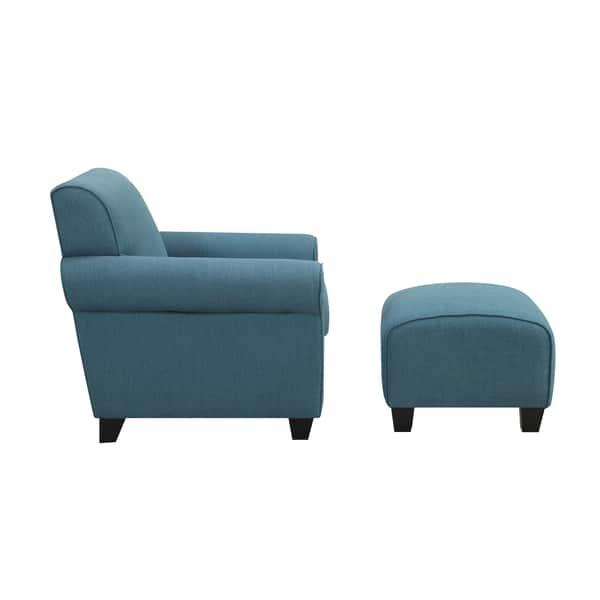Pleasant Shop Porch Den Pope Street Caribbean Blue Linen Arm Chair Ibusinesslaw Wood Chair Design Ideas Ibusinesslaworg