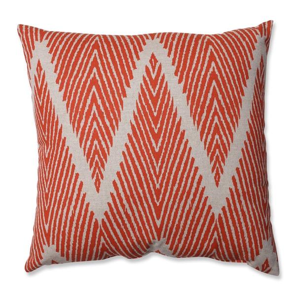 Pillow Perfect Bali Mandarin 16.5-inch Throw Pillow