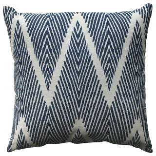 Pillow Perfect Bali Navy 18-inch Throw Pillow