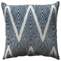 Havenside Home Waveland Navy 18-inch Throw Pillow