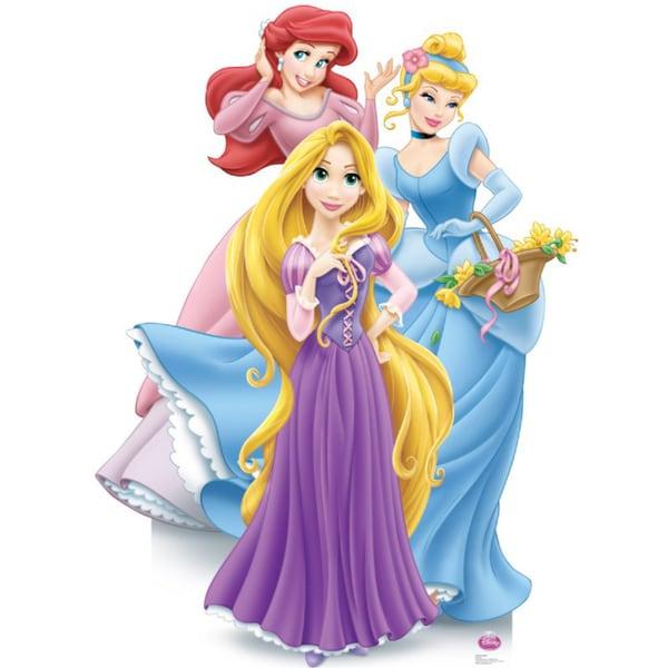 Disney Princesses Group Cardboard Standup