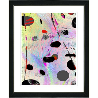 Studio Works Modern 'Plyos Pastel - Yellow' Framed Art Print
