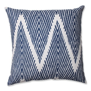 Pillow Perfect Bali Navy 16.5-inch Throw Pillow