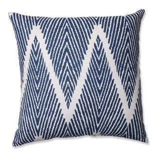 Pillow Perfect Bali Navy 16.5-inch Throw Pillow