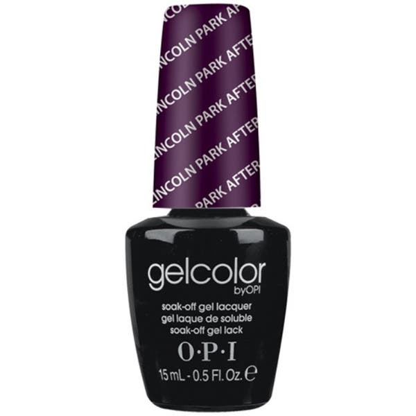 Shop Opi Gelcolor Lincoln Park After Dark Free Shipping On Orders