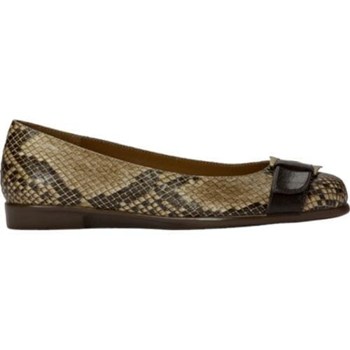 Women's Aerosoles Beclaration Brown Multi Synthetic Snake Print - Thumbnail 1