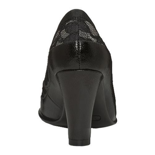 Women's Aerosoles Benefit Black/Grey Lace - Thumbnail 2