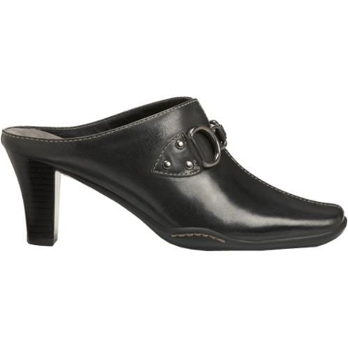 Women's Aerosoles Cinch Worm Black Leather - Thumbnail 1