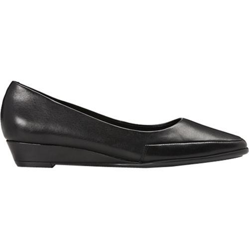 Women's Aerosoles Clean Slate Black Leather
