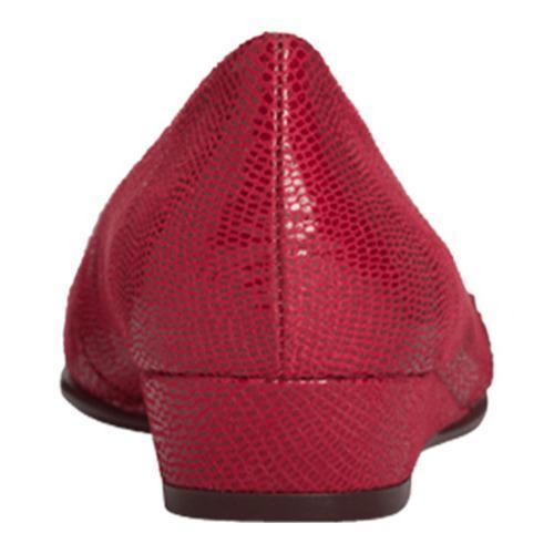 Women's Aerosoles Clean Slate Red Lizard