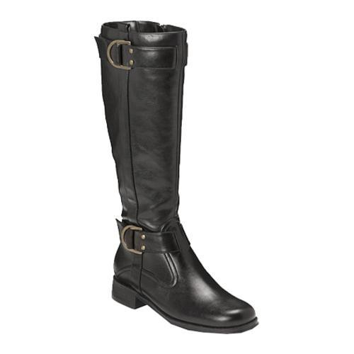 Women's Aerosoles Ride Line Black PU