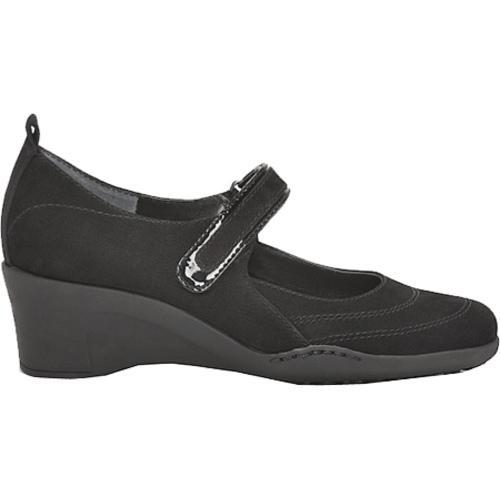 Women's Aerosoles Tornado Black Nubuck