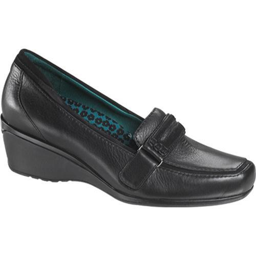 Women's Aetrex Marissa Loafer Black Leather - Thumbnail 0