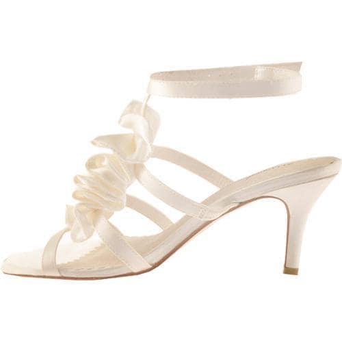 Women's Allure Bridals Beauty Ivory Silk Satin