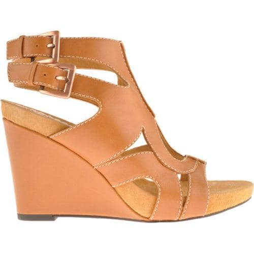 Women's Antia Shoes Gianna Cognac Soft Calf - Thumbnail 1