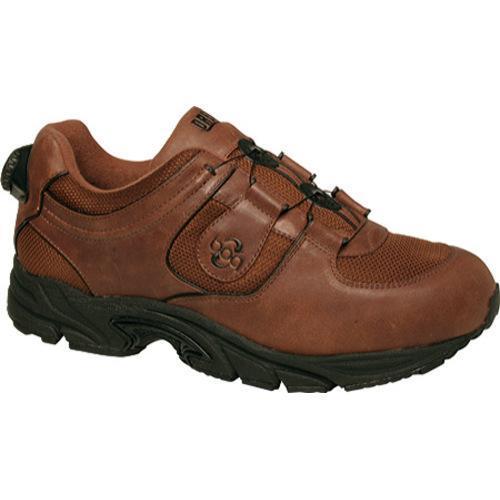Men's Drew Energy Brown Leather/Mesh