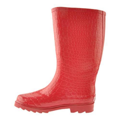 Women 39 s fishin 39 chix fishing boot red rubber free for Women s ice fishing boots