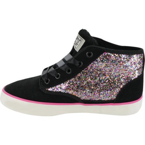 Girls' Gotta Flurt Dakar Glitter Black Polyurethane/Multi Glitter - Thumbnail 2