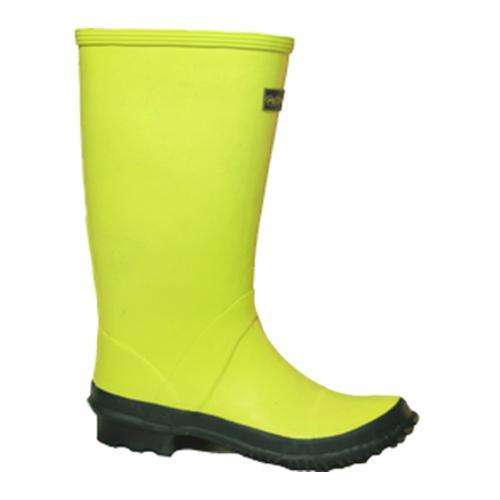 GreenTips All Natural Rubber Rain Boots Green