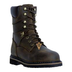 Men's McRae Industrial 8in Safety Toe Lacer MR88344 Dark Brown