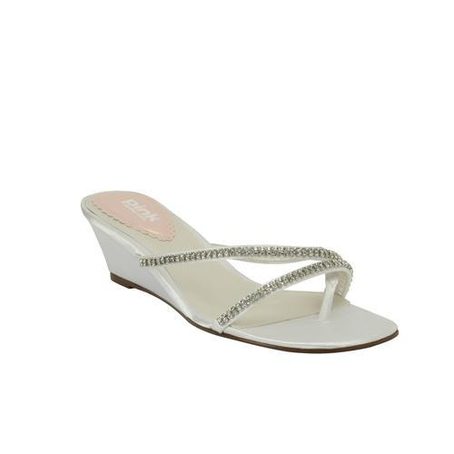 Women's Pink Paradox London Beach White Satin