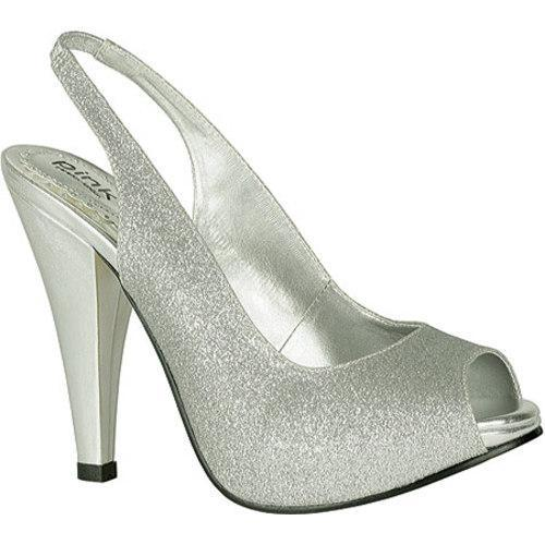 Women's Pink Paradox London Carrie Silver Metallic Glitter