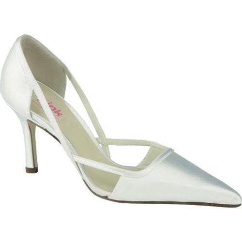 Women's Pink Paradox London Poppy White Satin
