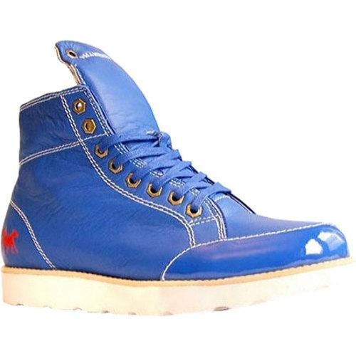 Men's Shane & Shawn H20 Blue Full Grain Leather/Patent Leather