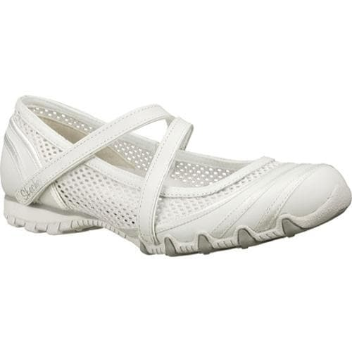 Women's Skechers Bikers Proposal White