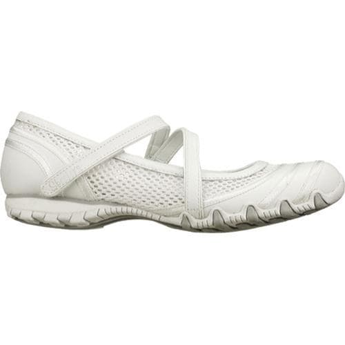Women's Skechers Bikers Proposal White - Thumbnail 1