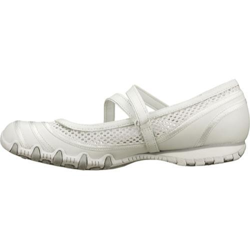 Women's Skechers Bikers Proposal White - Thumbnail 2