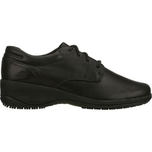 Women's Skechers Work Nexus Lace SR Black - Thumbnail 1