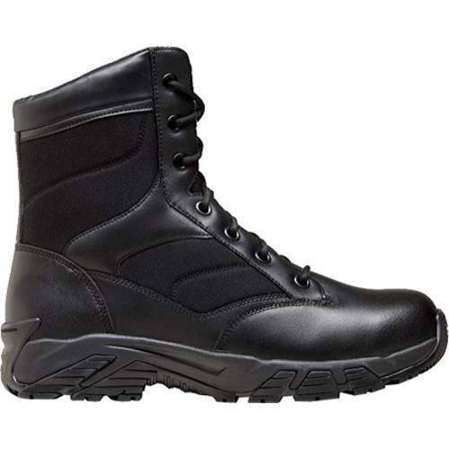 Men's Terra Perimeter 8in Black Leather