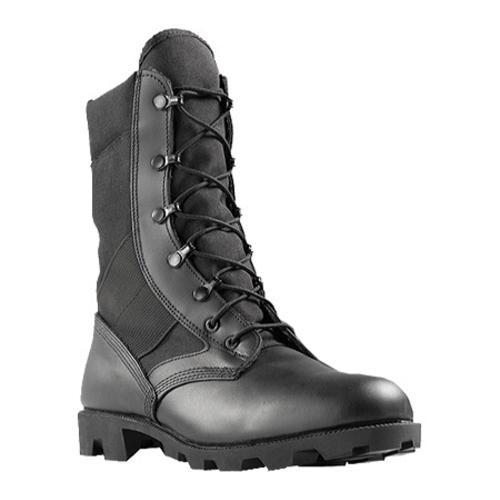 Men's Wellco Imported Hot Weather Jungle Combat Boot Black