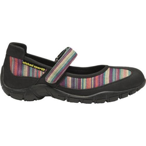 Women's Wicked Hemp Jean Rainbow Geo Tech