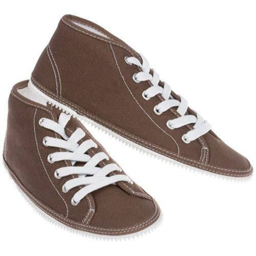 Children's Zipz Chocolat HiTop Covers Brown