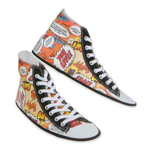 Zipz Comixz HiTop Covers Multicolored
