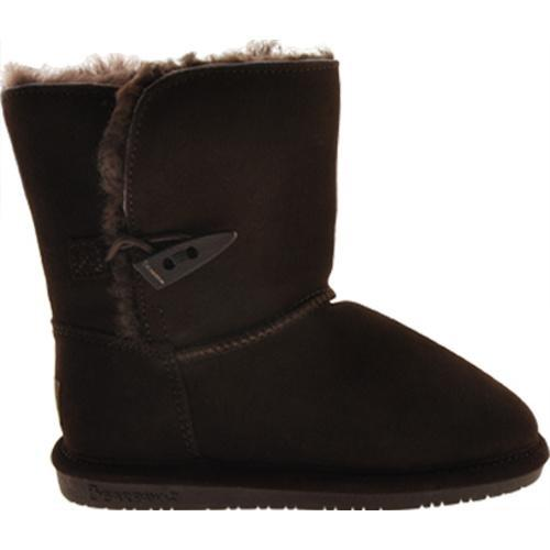 Girls' Bearpaw Abigail Chocolate - Thumbnail 1