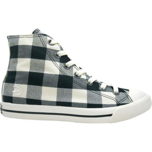 Men's Burnetie High Top Plaid Black/Phaeton Grey/College Grey