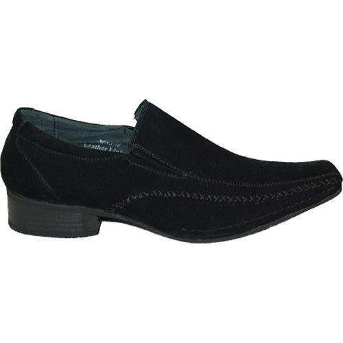 Men's Giorgio Baccini My Suede Look Shoes Black