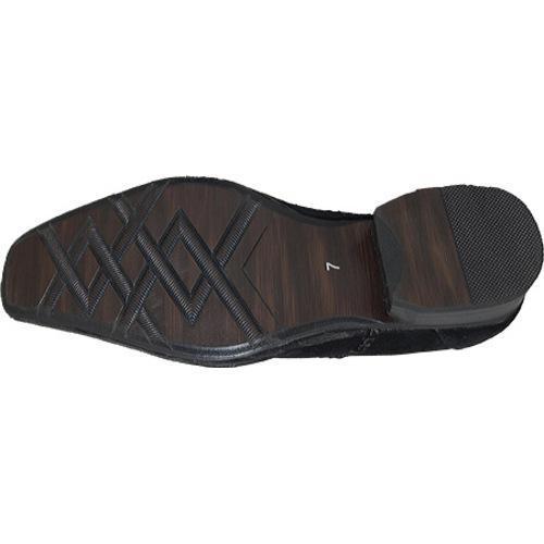 Men's Giorgio Baccini Kingdom Cross Leather Line Shoes White - Thumbnail 2