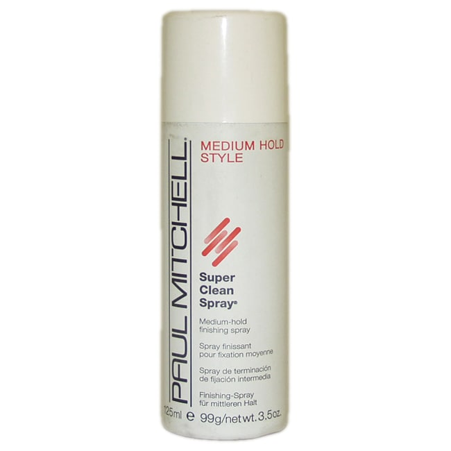 Super Clean Spray -Medium Hold by Paul Mitchell for Unisex - 3.5 oz Hair Spray