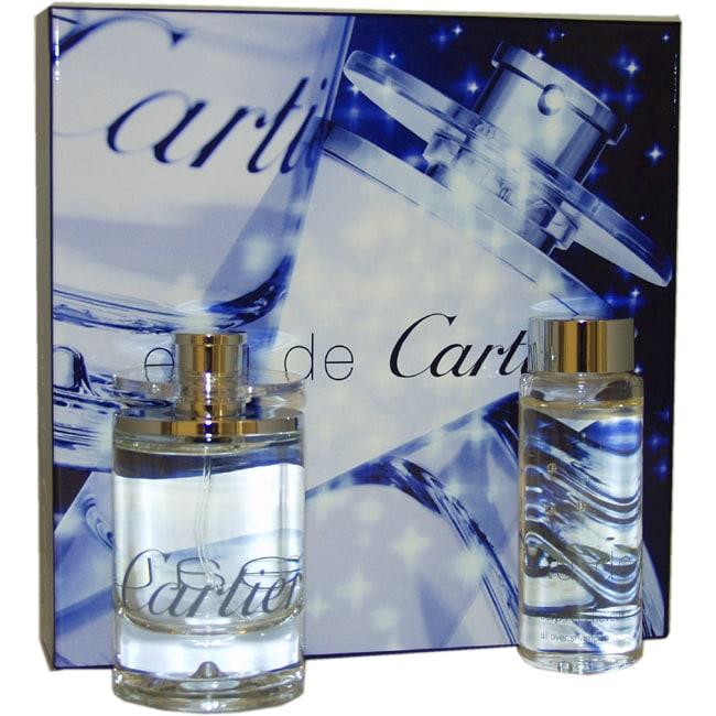 Eau De Cartier by Cartier 2-piece Gift Set