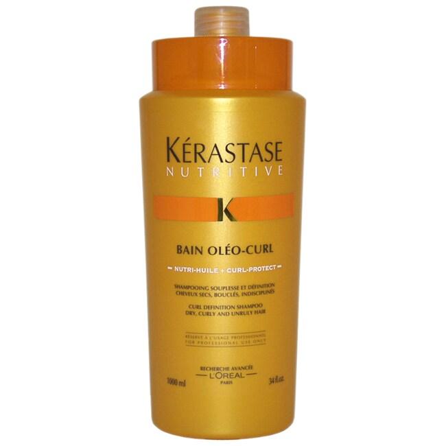 Kerastase Nutritive Bain 34-ounce Oleo-Curl Shampoo