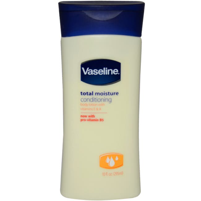Total Moisture Conditioning Body Lotion by Vaseline for Unisex - 10 oz Body Lotion|https://ak1.ostkcdn.com/images/products/81/211/P14944944.jpg?impolicy=medium