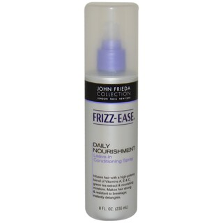 John Frieda Frizz Ease Daily Nourishment Leave-In Conditioning 8-ounce Hair Spray